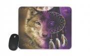 Mousepad Wolf Dreamcatcher