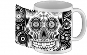 Tasse Mug black and white sugar skull