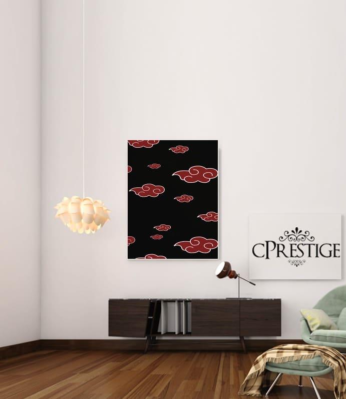 Akatsuki Cloud REd for Art Print Adhesive 30*40 cm