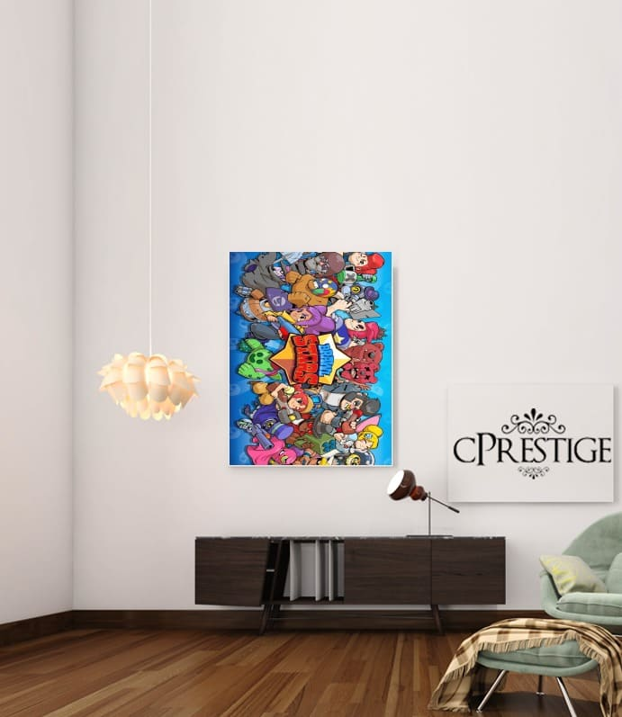 Brawl stars for Art Print Adhesive 30*40 cm