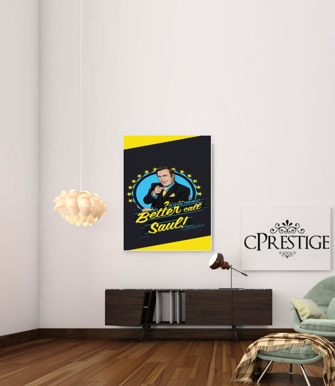 Art Print Breaking Bad Better Call Saul Goodman lawyer
