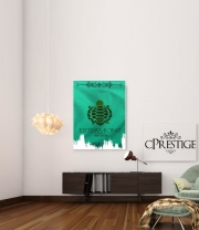 Art Print Flag House Estermont