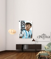 Art Print Football Legends: Lionel Messi World Cup 2014