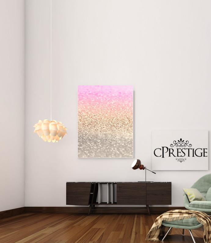 Gatsby Glitter Pink for Art Print Adhesive 30*40 cm