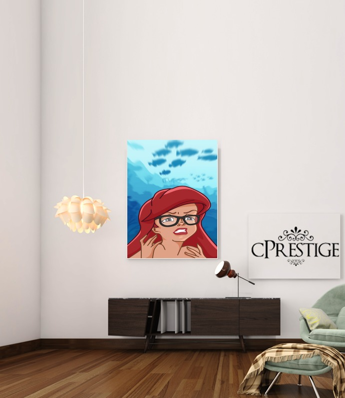 Art Print Meme Collection Ariel