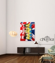 Art Print Minions mashup One Direction 1D