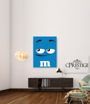 Art Print M&M's Blue
