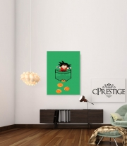 Art Print Pocket Collection: Goku Dragon Balls