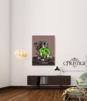 Art Print The King on the Throne of Trophies