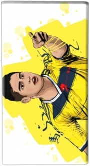 Powerbank Universal Emergency External Battery 7000 mAh Football Stars: James Rodriguez - Colombia