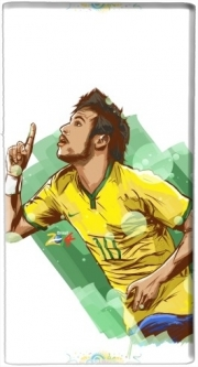 Powerbank Universal Emergency External Battery 7000 mAh Football Stars: Neymar Jr - Brasil