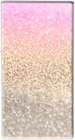 Gatsby Glitter Pink für Tragbare externe Backup-Batterie 5000 mah Micro-USB