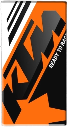 KTM Racing Orange And Black for Powerbank Universal Emergency External Battery 7000 mAh