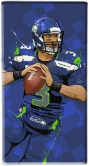 Powerbank Universal Emergency External Battery 7000 mAh Seattle Seahawks: QB 3 - Russell Wilson