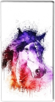 Batterie nomade de secours universelle 5000 mAh watercolor horse