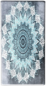 Mini Powerbank Micro USB Emergency External Battery 1720 mAh BOHOCHIC MANDALA IN BLUE