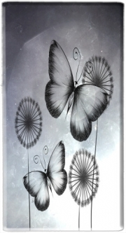 Mini Powerbank Micro USB Emergency External Battery 1720 mAh Butterflies Dandelion
