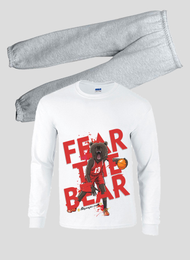 Pajamas kids Beasts Collection: Fear the Bear
