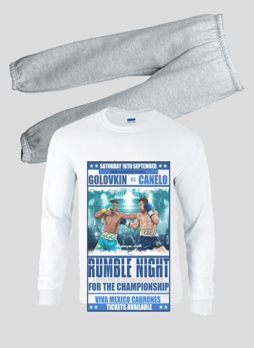 Pajamas kids Canelo vs Golovkin 16 September