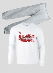 Pajamas kids Coca Cola Rouge Classic
