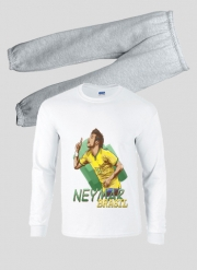 Pajamas kids Football Stars: Neymar Jr - Brasil