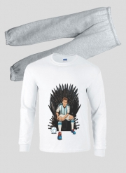 Pyjama enfant Game of Thrones: King Lionel Messi - House Catalunya