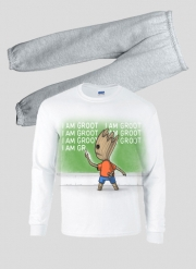 Pyjama enfant Bart Punition - Je s'appelle groot