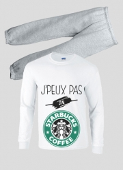 Pajamas kids Je peux pas jai starbucks coffee