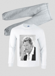 Pyjama enfant johnny hallyday Smoke Cigare Hommage