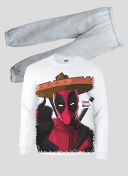 Pajamas kids Mexican Deadpool