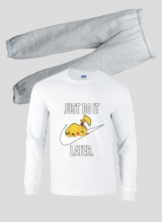 Pyjama enfant Nike Parody Just Do it Later X Pikachu