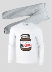 Pajamas kids Nutella