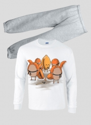 Pyjama enfant Orange Kill Fruit