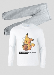 Pyjama enfant Pikachu Coffee Addict