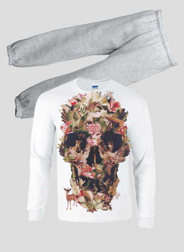 Pyjama enfant Skull Jungle