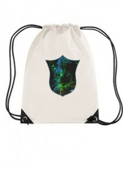 gymsac Abstract neon Leopard