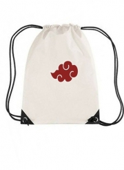 Sac de gym Akatsuki  Nuage Rouge pattern