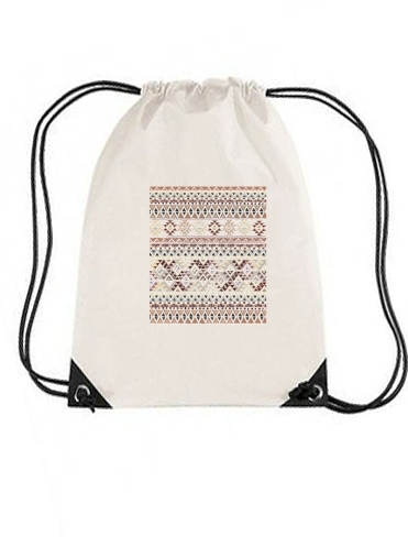 gymsac BROWN TRIBAL NATIVE