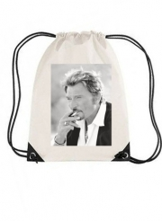 Sac de gym johnny hallyday Smoke Cigare Hommage