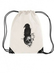 Sac de gym Raven and Skull