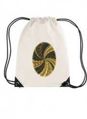 Sac de gym Twirl and Twist black and gold