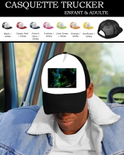 Snapback Cap Abstract neon Leopard
