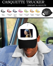 Snapback Cap Girl with a Pearl Earring