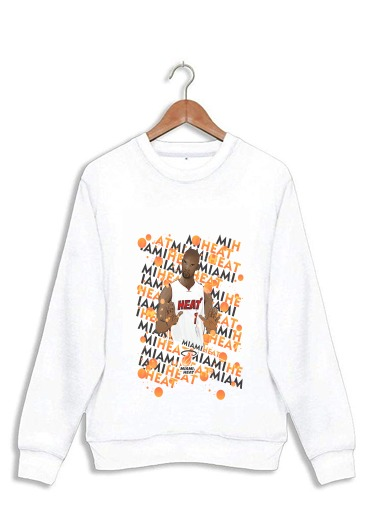 Sweatshirt Basketball Stars: Chris Bosh - Miami Heat