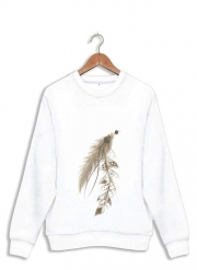 Sweatshirt Boho Feather