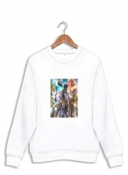 Sweatshirt Fortnite Artwork avec skins et armes