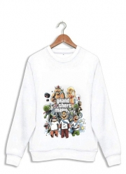 Sweatshirt Grand Theft Mario