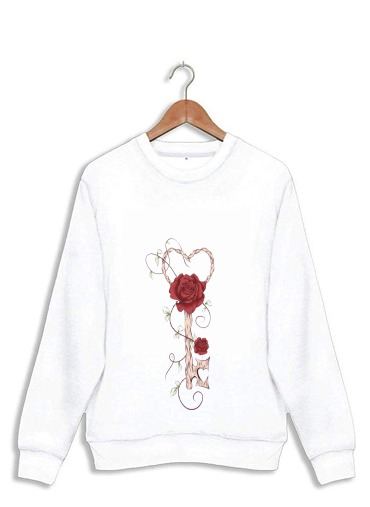 Sweatshirt Key Of Love