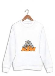 Sweatshirt KTM Racing Orange And Black