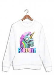 Sweatshirt Licorne Fortnite
